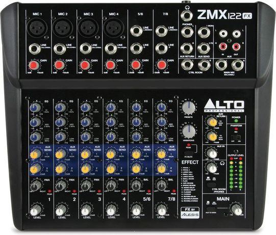 Mikser Alto Professional ZMX122 FX 8 kanałów