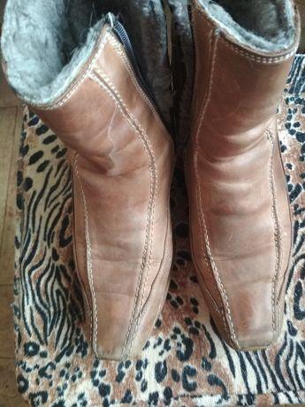 Ботинки женские б у кожа р 37