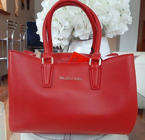 Przepiękna torebka Valentino Medea Rosso oryginał