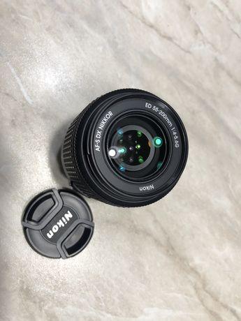 Obiekty Nikon nikkor 55-200 lustrzanka