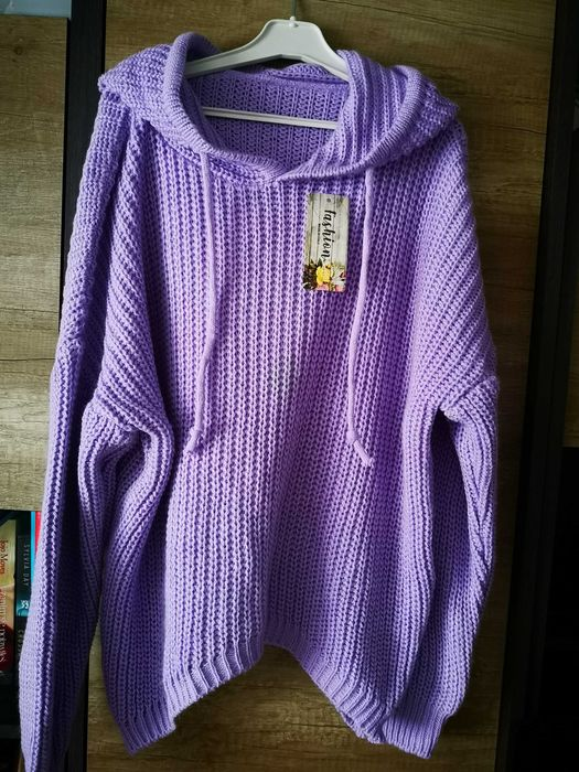Nowy sweterek liliowy Opole - image 1