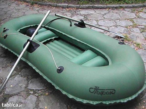 ponton gumowy nurok gruby masywny łódka pompowana
