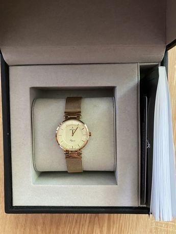 Złoty zegarek Atlantic Elegance