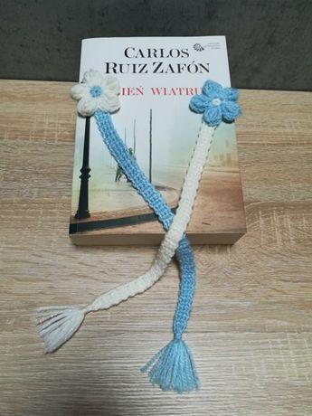 Zakładka szydełkowa do książek Handmade