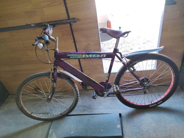 Велосипед с передачами. Горный велосипед