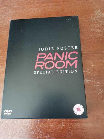 Panic Room A sala de pânico filme DVD edição especial 3 discos