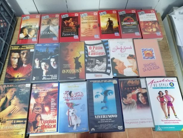 Cassets VHS diversas