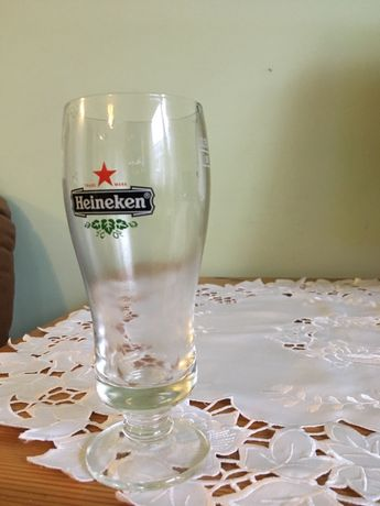 Szklanki do piwa Heineken
