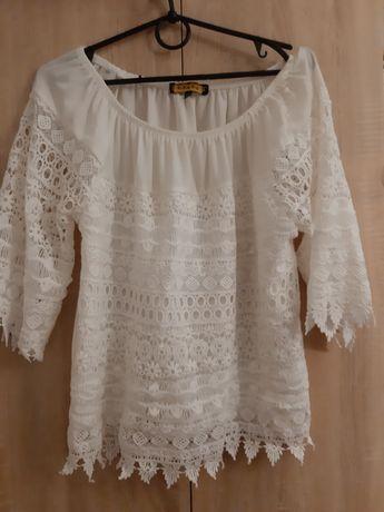 Блуза стильная кружевная