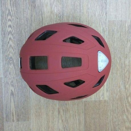 Велосипедный шлем Abus Hyban marsala red L.