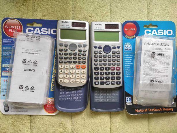 Научные калькуляторы Casio fx-115ES и fx-991ES PLUS в идеал. состоянии