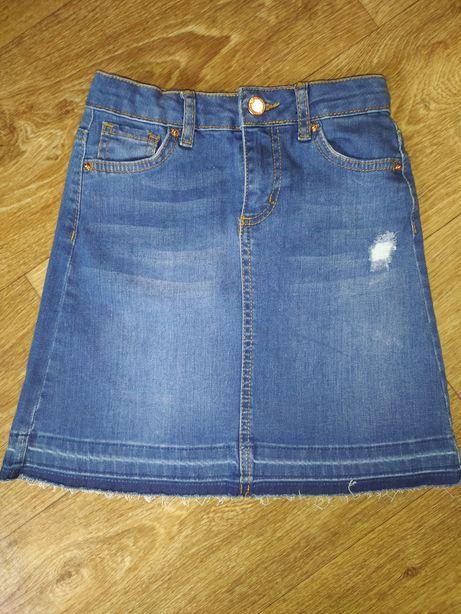 Новая джинсовая юбочка 140-146