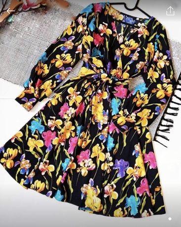 Платье цветочное цветочный принт нарядное