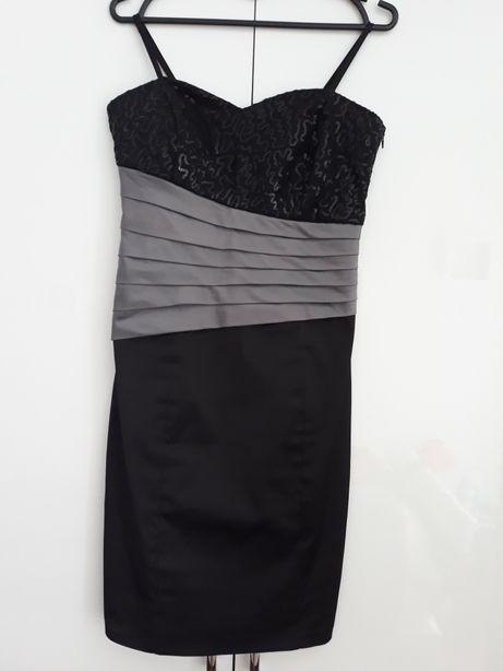 Elegancka sukienka 36 (S). Jak nowa!