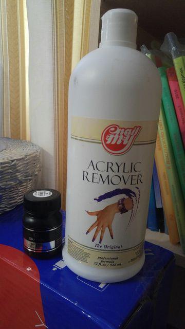 Base gel & acrylic remover