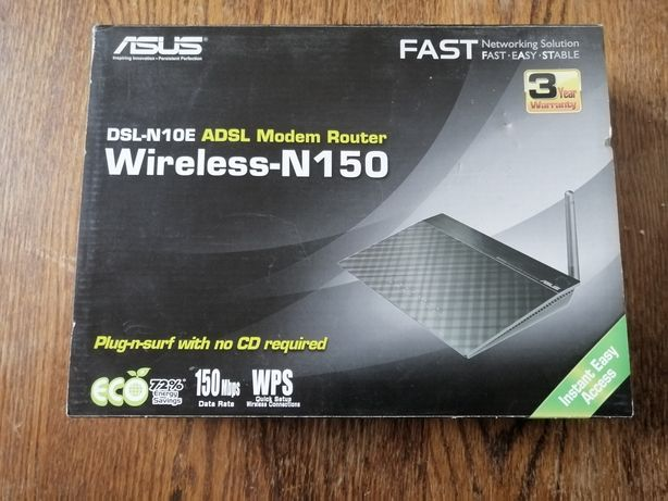 Продам модем Asus DSL-N10E