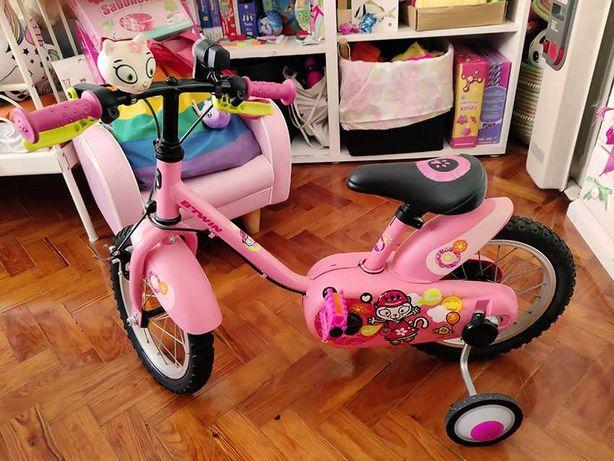 Bicicleta para criança dos 3 aos 5 anos