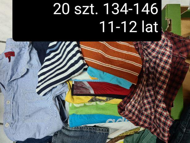 sprzedam zestaw paka ubrania chłopiec