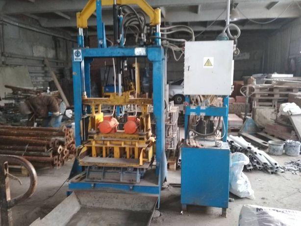 Оборудование по производству плитки тротуарной