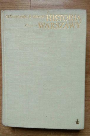 Historia Warszawy- M.Drozdowski