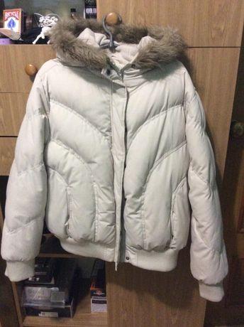 Женская белая зимняя куртка oversize 48/5(L/XL) Dorothy Perkins (обмен