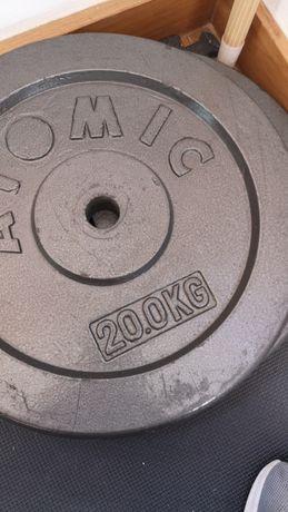 2 Discos pesos 20kgs