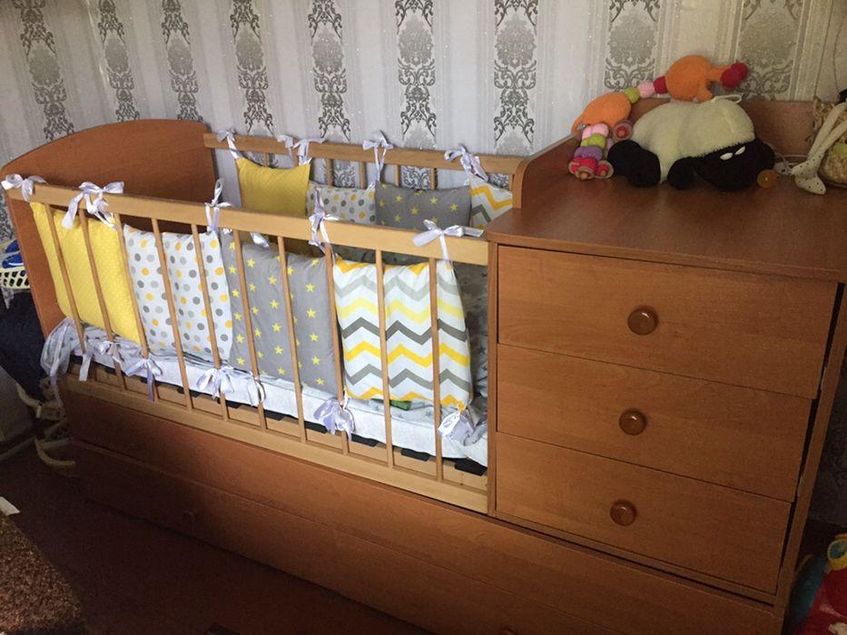 Ліжко трансформер Чернобай - изображение 1