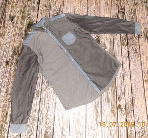 Стильная рубашка Next для подростка 15-17 лет, размер М