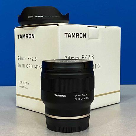 Tamron 24mm f/2.8 Di III OSD (Sony FE) - NOVA - 5 ANOS DE GARANTIA