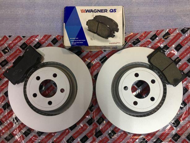 Тормозные диски, тормозные колодки Premium к Ford Mustang 2015 - 2020