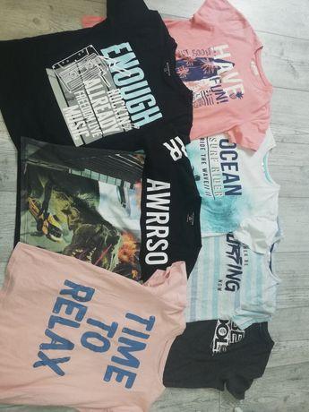 7 Szt tshirt bluzki krótki rękaw reserved 146
