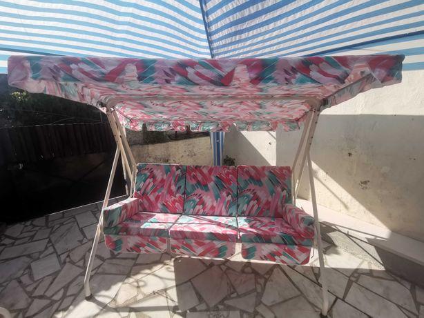 Cadeira Baloiço de Jardim - 3 Lugares