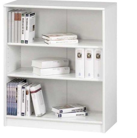 Regał / półka / komoda na książki biały NOWY