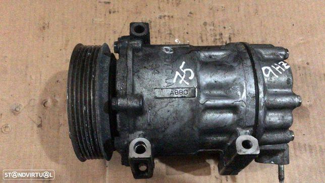 Compressor Ar Condicionado A/C Peugeot 307 1.6 HDI Ref:9651911480