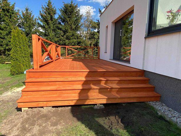 Altany, tarasy, balkony