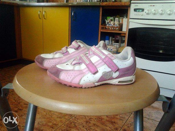 adidaski różowe serduszka rzepy