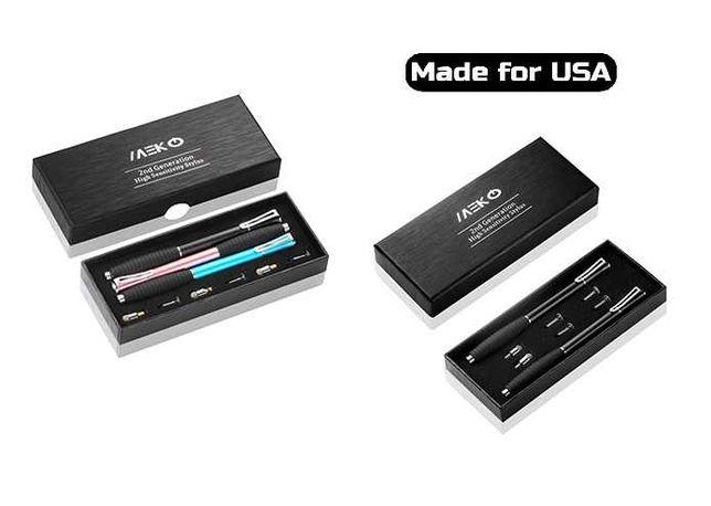 •из США• 2в1 ДИСКОВЫЙ Стилус ВСЕ экраны/рисование/планшет + 2 наконечн