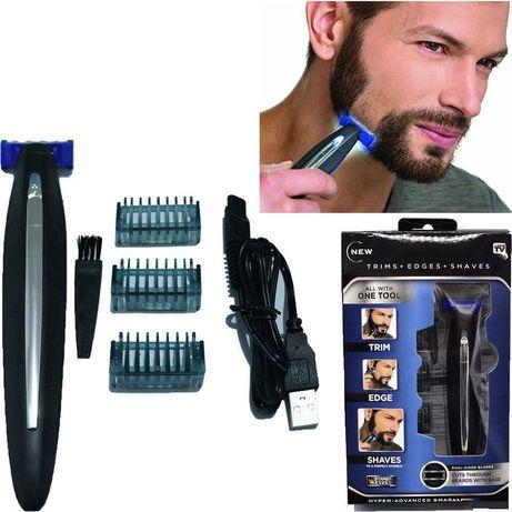 Триммер – бритва для мужчин Micro Touch Solo, мужская машинка для стри