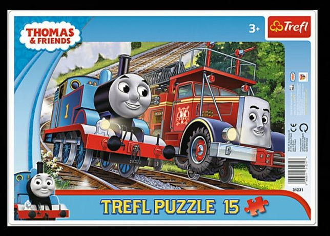 Nowe puzzle w ramce. Tomek i przyjaciele. Ekspresowa wysyłka