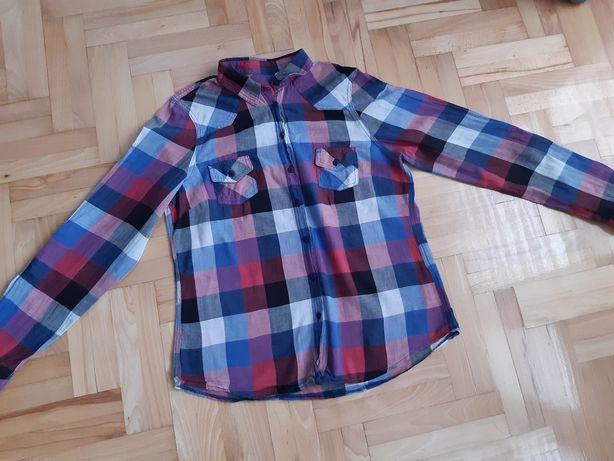 Koszula w kratę Topshop