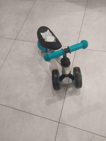 Pchacz jeździk Kinderkraft CUTIE turkusowy rowerek