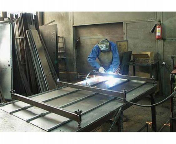 Изготовление металлоконструкций. Сварочные работы