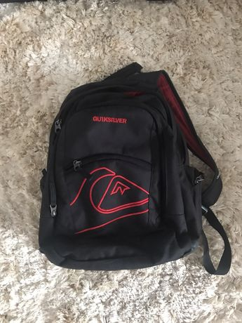 Plecak Quicksilver do szkoły i ma wycieczkę