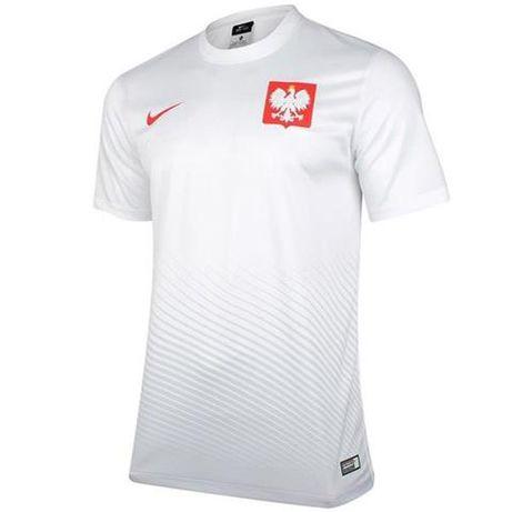 Koszulka męska Nike Polska Home Supporters Tee biała roz.XL
