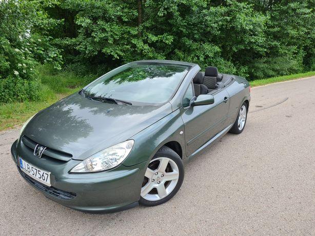 Peugeot 307CC Cabrio 2003r 2.0 ben Sprawna Klima ZAMIANA