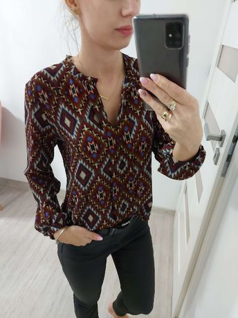 Bluzka damska we wzory