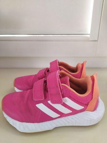 Różowe buciki adidas rozm. 28