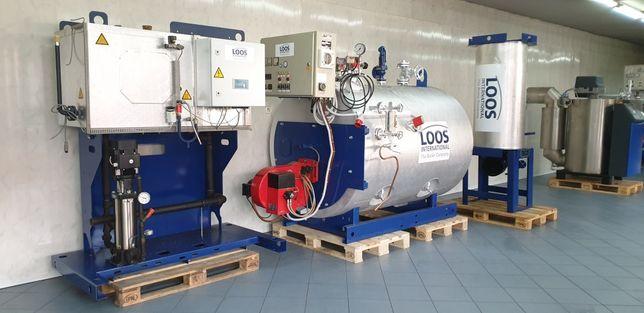Kocioł parowy wytwornica pary Loos 500kg/h 16BAR OLEJ