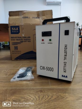 Чиллер S&A CW-5000 для Охлаждения Излучателей Лазерных Станков