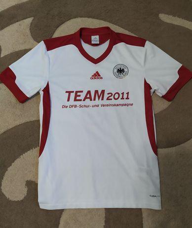 Отличная футболка Adidas Teamwear ClimaLite разм M-L, 48-50-52